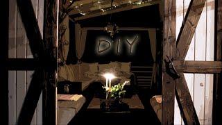 Terrassenidee & Gestaltung DIY |  Holzschiebetür (Barndoor) selber machen  + Balkondekotipps |Teil 3