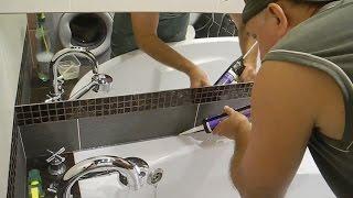 Как КРАСИВО обсиликонить ванну