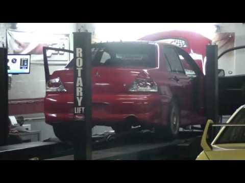 Diego's TD Autowerkes EVO 836hp Dyno 6/23/09