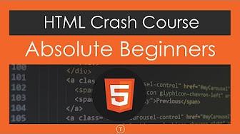 Web Development Crash Courses - YouTube