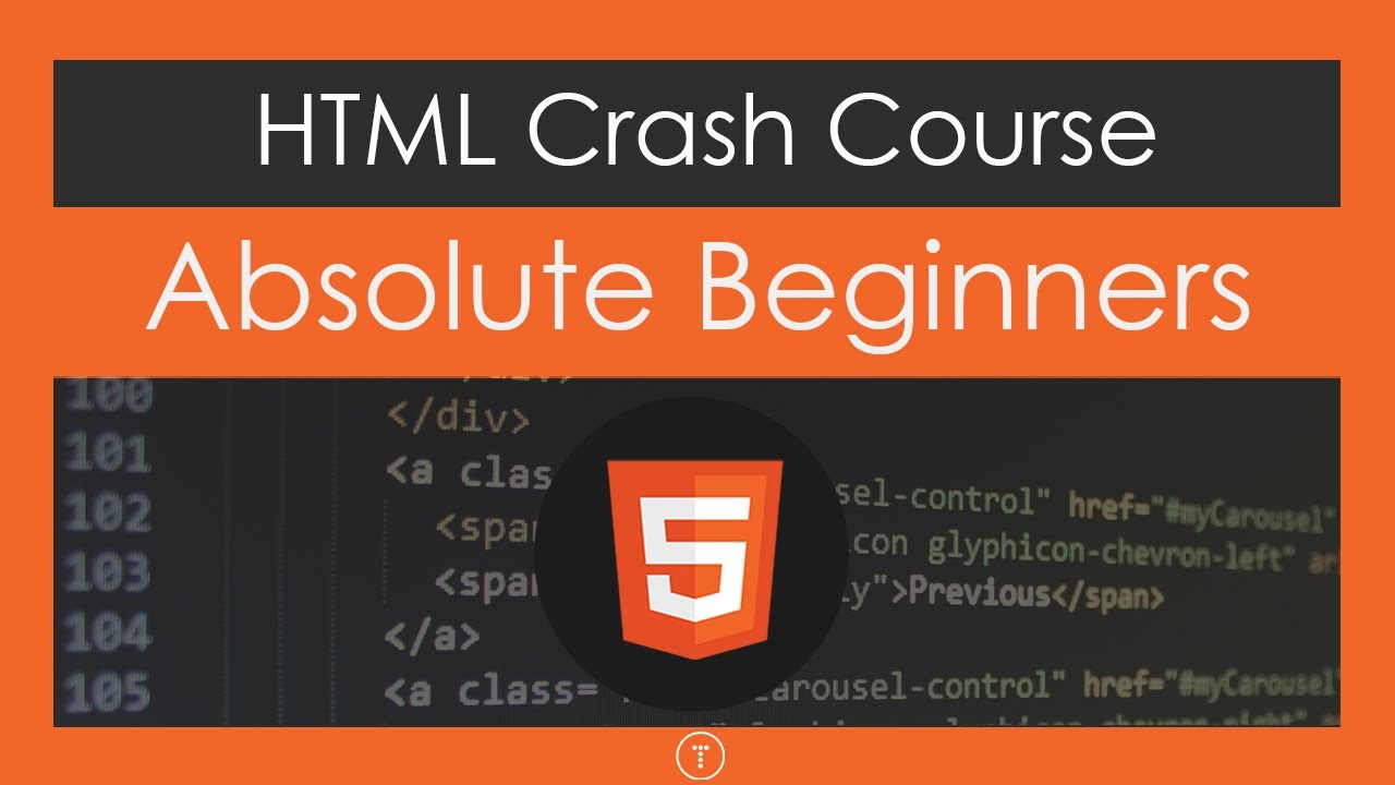 Html crash course for absolute beginners