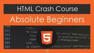 Gambar cover HTML Crash Course For Absolute Beginners