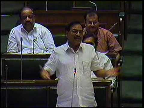Hon. Eknath Khadse speech when he was Leader of Opposition - must listen