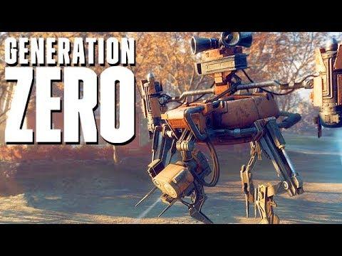 Download Generation Zero Gameplay German - Schwedische Flug Drohnen
