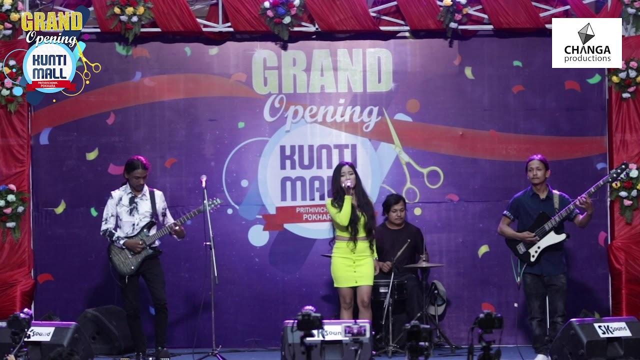 Chari Barara Cover by Blacksheep Band | Grand Opening | Kunti Mall Pokhara |