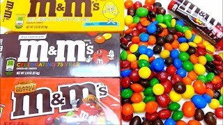 M&M's Super Candy Collection Unboxing Video