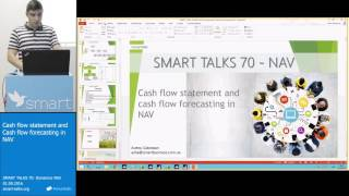 SMART TALKS 70: Dynamics NAV - Cash flow statement and Cash flow forecasting in NAV
