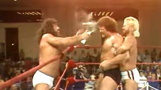 Scott Hall & Curt Henning vs. Steve Regal & Jimmy Garvin (AWA) - November 26, 1985