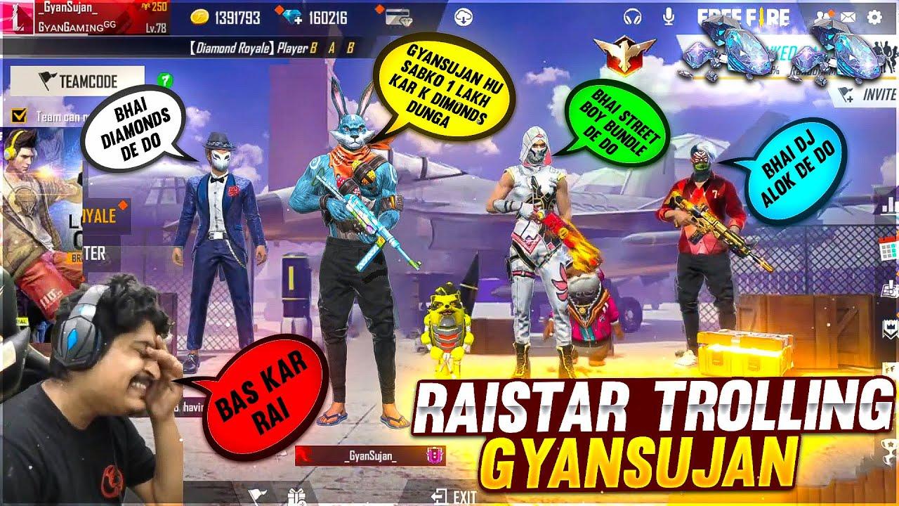 Raistar Trolling GyanSujan