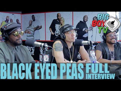 Black Eyed Peas FULL INTERVIEW | BigBoyTV