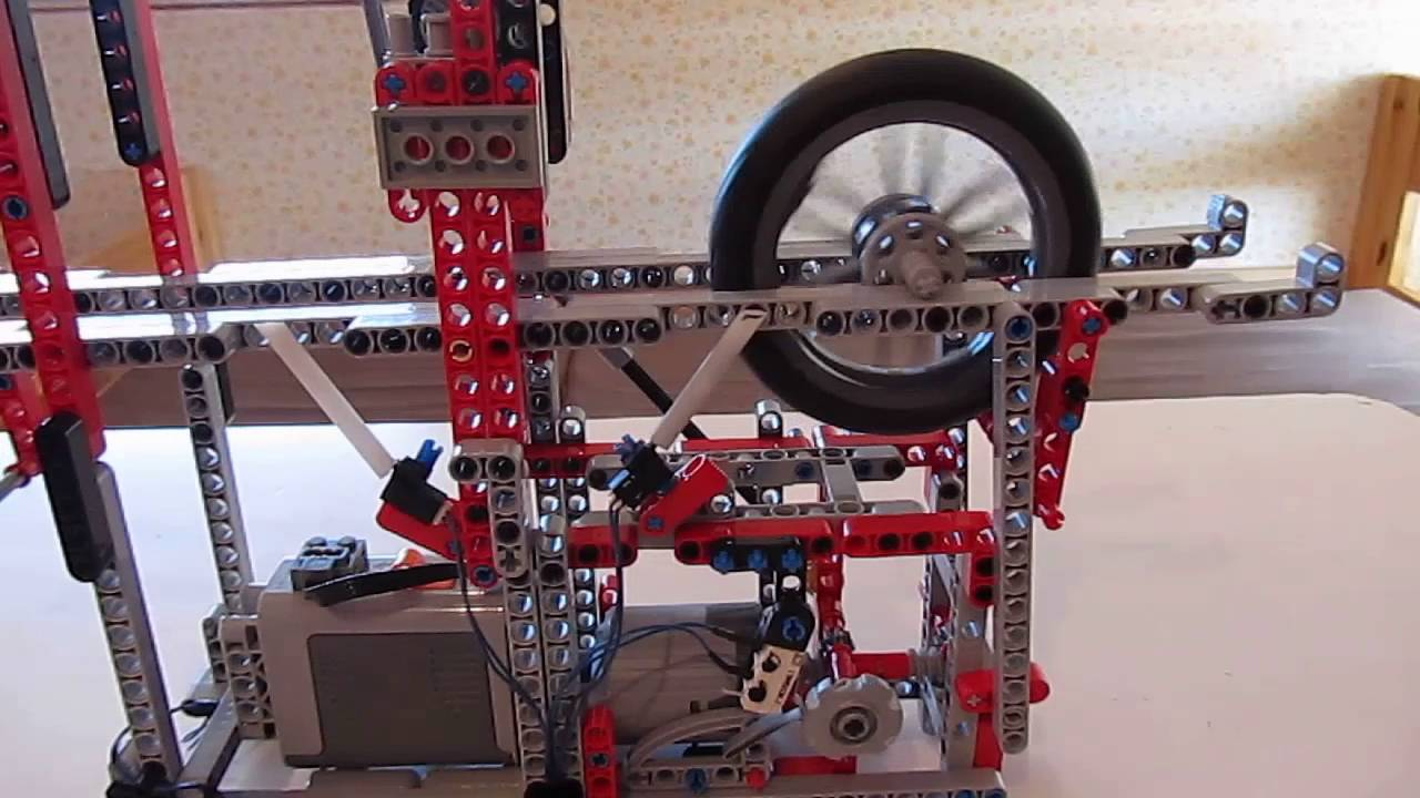 Lego electric clock Congreve -type #1