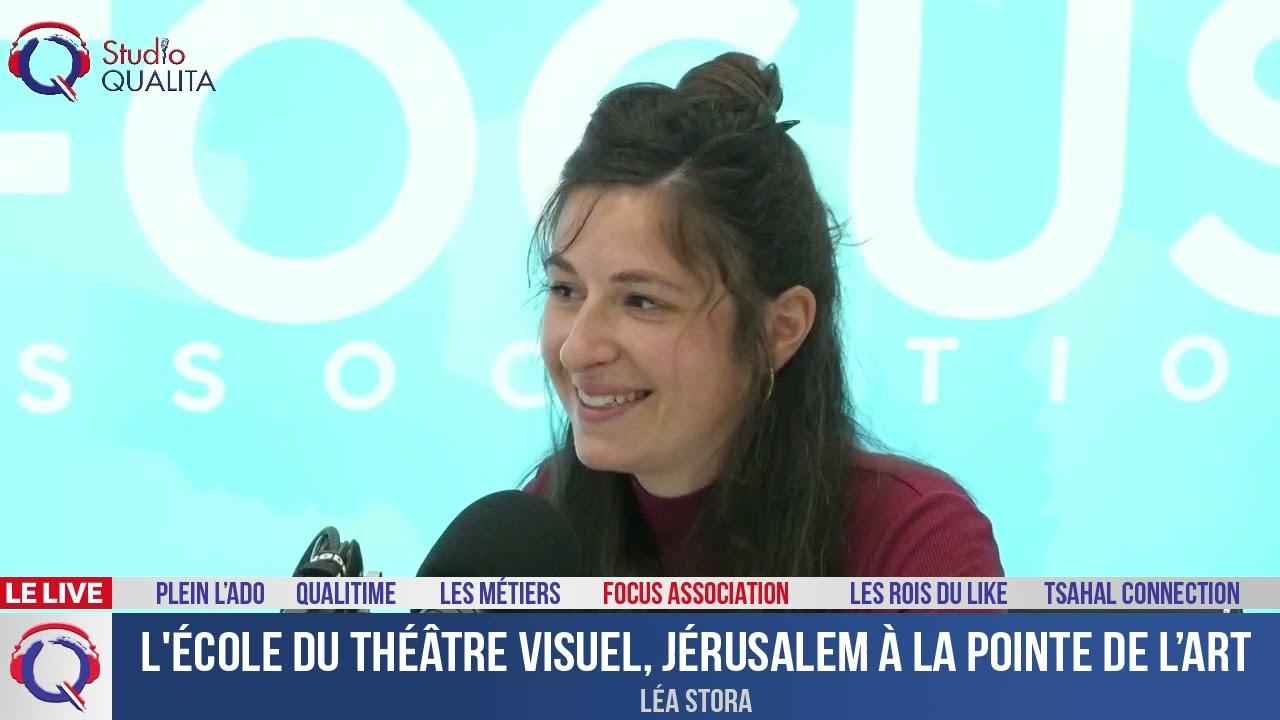 L'école du théâtre visuel, Jérusalem à la pointe de l'art - Focus#428