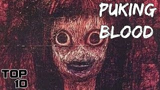 Top 10 Scary Cursed Paintings You Should NEVER See - Part 2