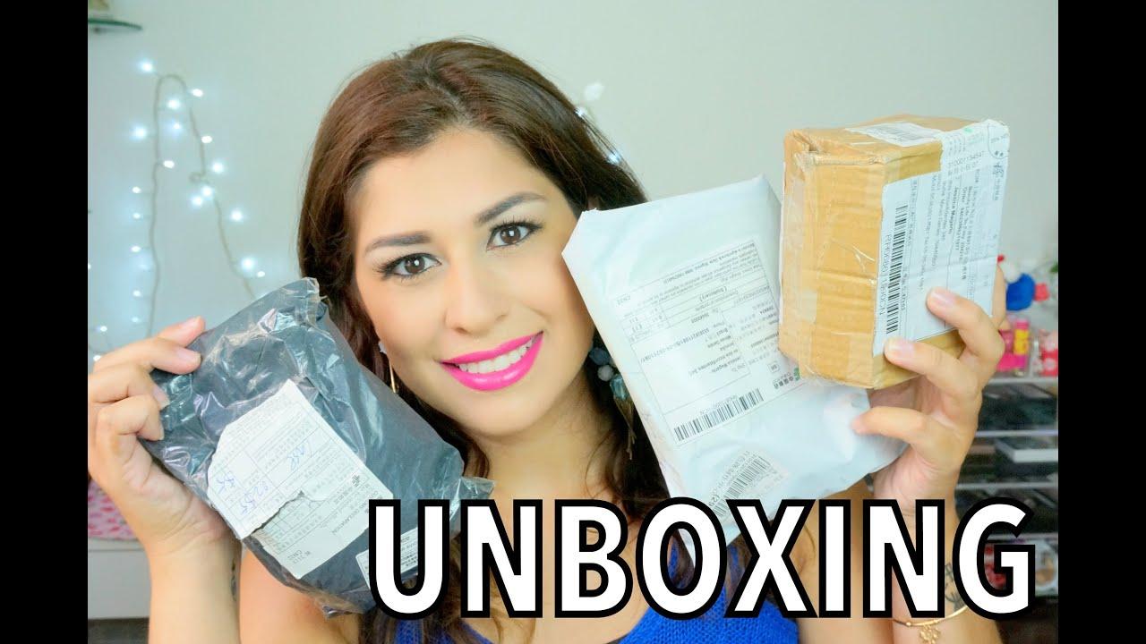 UNBOXING ALIEXPRESS - Comprinhas - 12 Itens