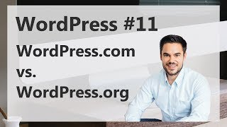 WordPress.com vs. WordPress.org Account. Was ist Was.