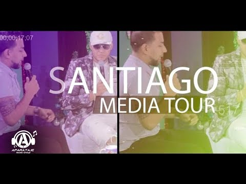 Carlitos Wey - Media Tour Santiago