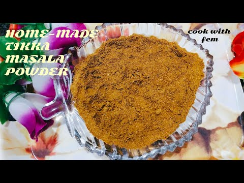 Home-made Tikka Masala Powder | BEST  VIDEOS COOKING