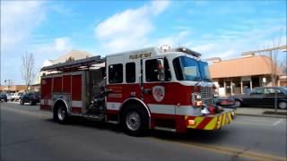 Fire Trucks Responding Best of 2016