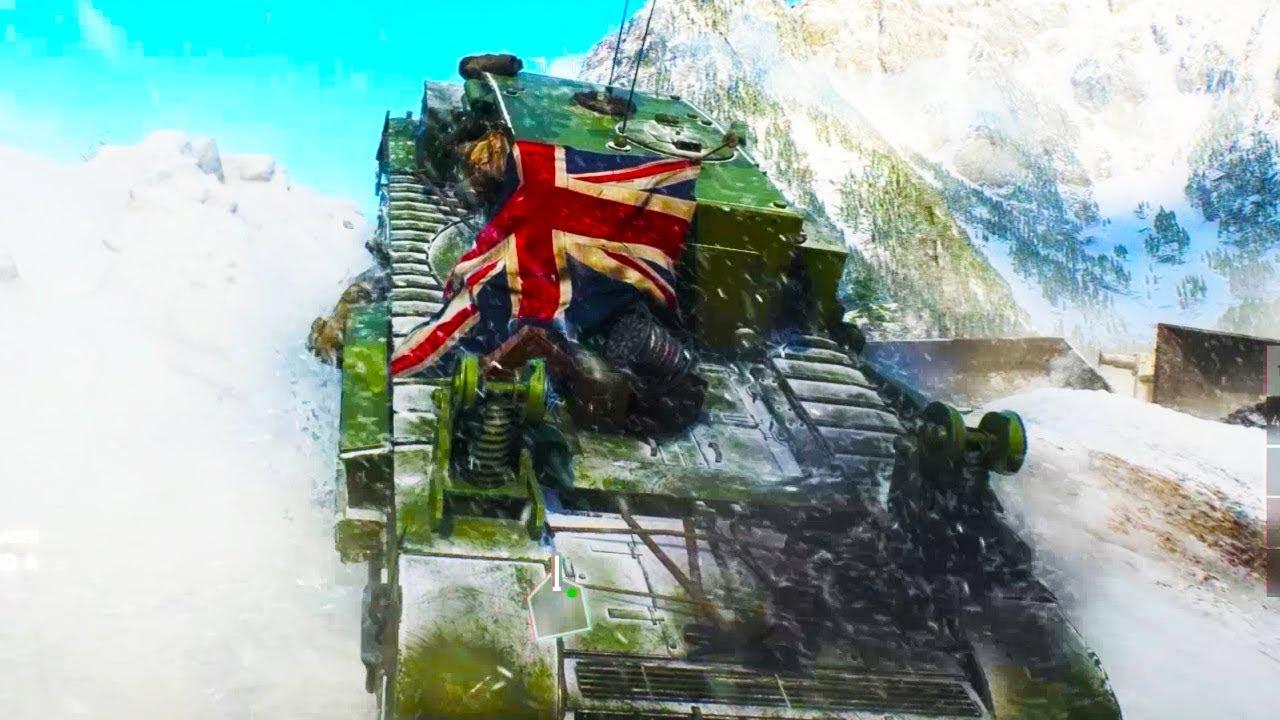 Battlefield 5 Tank Multiplayer Gameplay