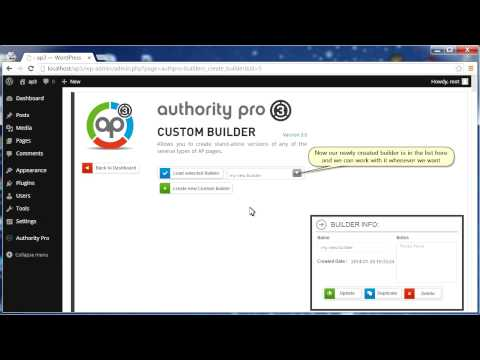 Authority Pro 3 | Getting Started with Authority Pro Dashboard