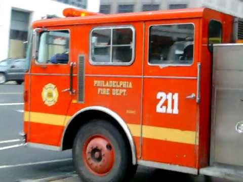 PFD Engine 43 and Ladder 9 Returning