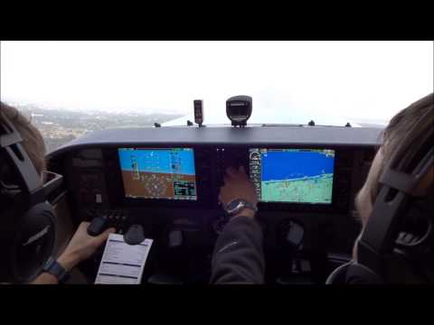 IFR Training Flight: Cessna 172 G1000 Cockpit (ERAU)