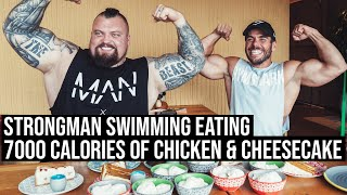 Strongman Eating | 7000 Calories of Chicken & Cheesecake