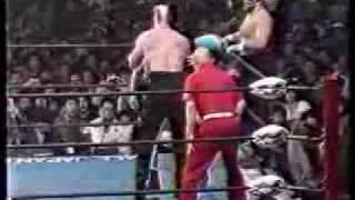 the road warriors vs killer karn animal hamaguchi
