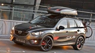 Mazda CX-5 Dempsey Concept 2012 Videos