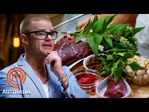 Heston Blumenthal'sAustralian Cuisine Mystery Box | MasterChef Australia | MasterChef World