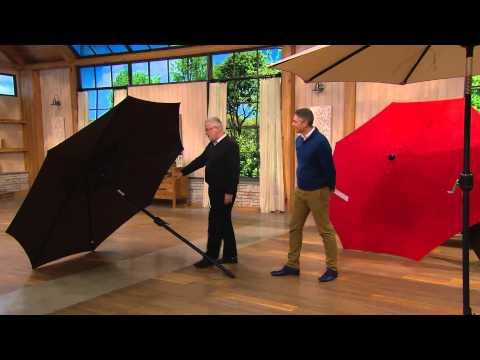 Flexx Spring 9' Olefin Market Umbrella with 2yr LMW with Kerstin Lindquist