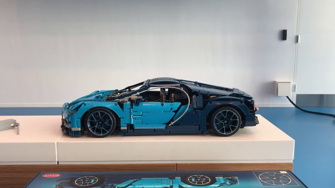 Lego Technics Bugatti Chiron 2 Youtube