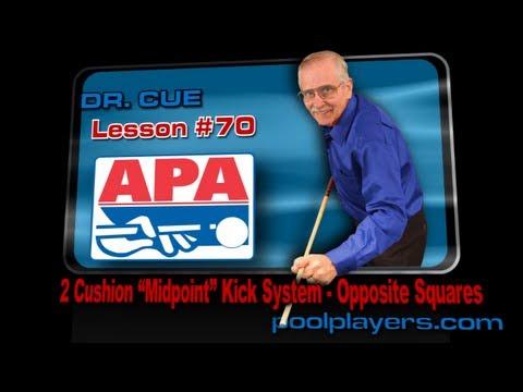 Dr. Cue Pool Lesson #70 - 2 Cushion