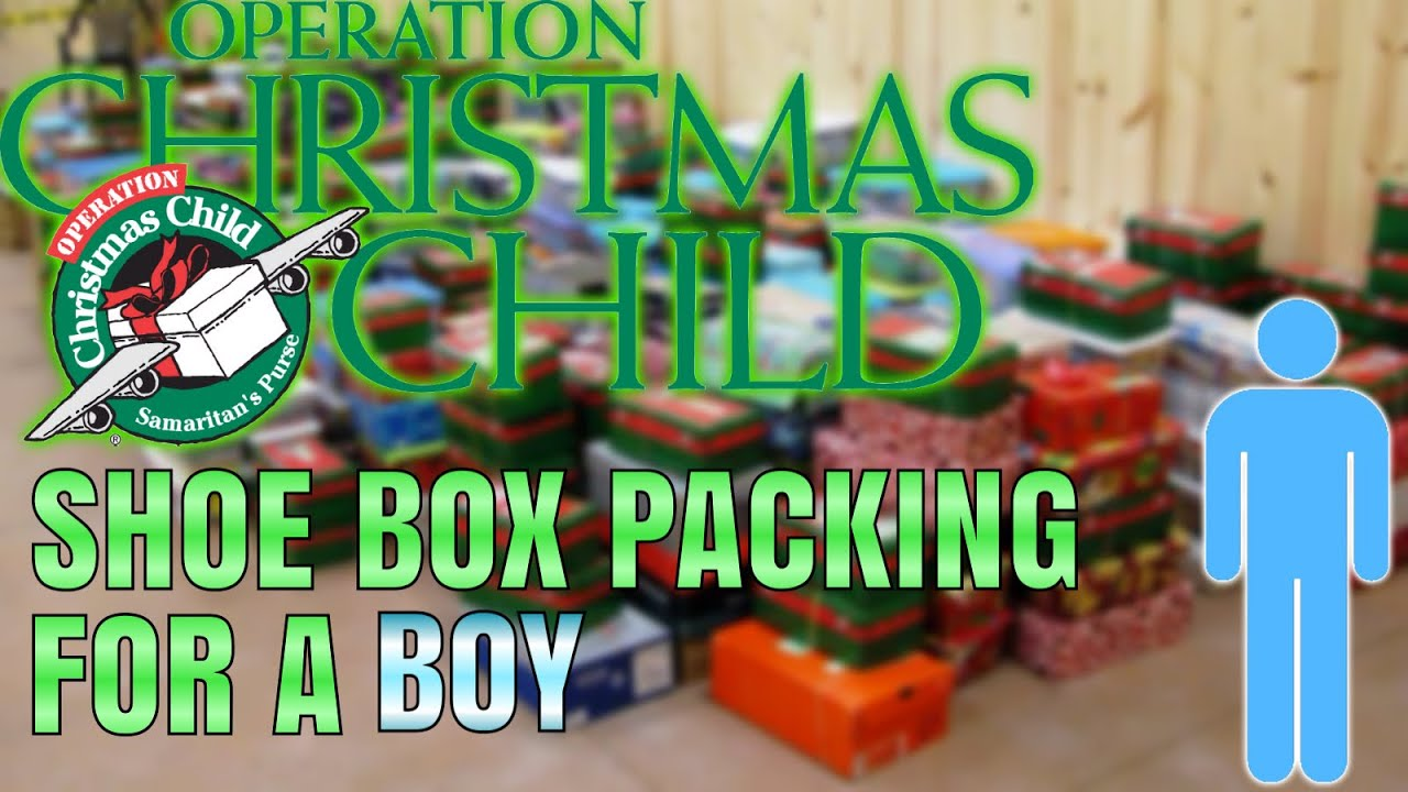 Packing A Shoebox Gift For A