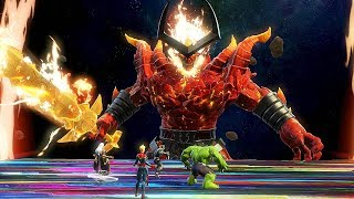 SURTUR Boss Fight - Marvel Ultimate Alliance 3: The Black Order @ 1080p ᴴᴰ ✔
