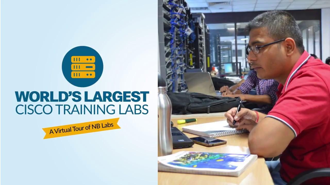 World's Largest Cisco Training Lab - Network Bulls CCNA, CCNP & CCIE Lab  Virtual Tour