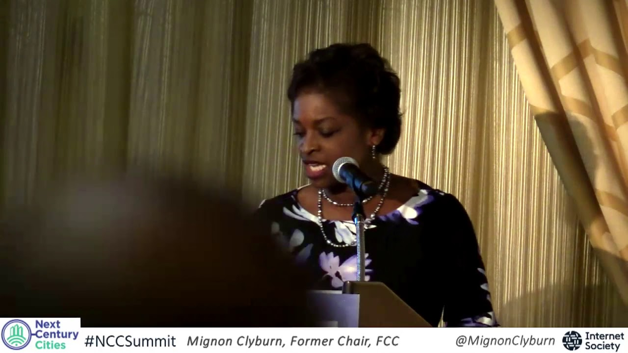 NCC Summit - Mignon Clyburn Keynote - YouTube