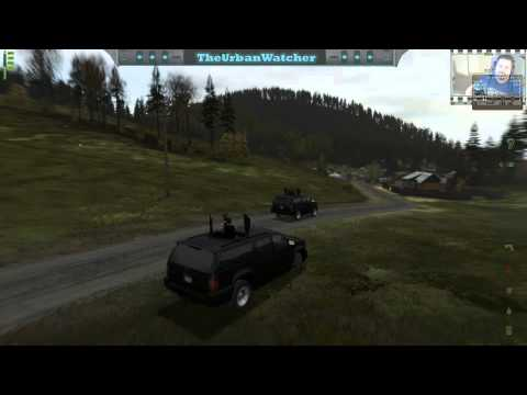 DayZ Mod Epoch: Armored Convoy Takes Out Helicopter (Server Population Zero)