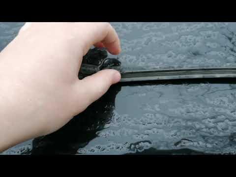 Ауди А6 С7 Замена щёток стеклоочистителей (дворников)