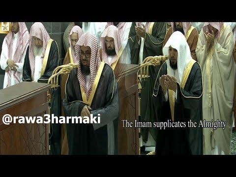 صلاة التراويح من الحرم المكي ليلة 11 رمضان 1438 للشيخ سعود الشريم وماهر المعيقلي كاملة مع الدعاء
