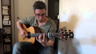 Океан Ельзи (Okean Elzy) - Обійми - solo guitar by Shaï Sebbag (2013)