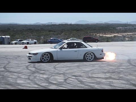 S13 Shooting Flames!