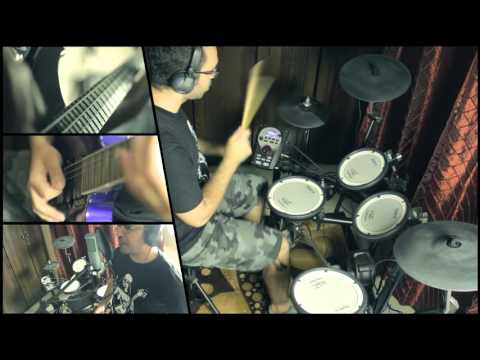 Amon Amarth - As Loke Falls (All Instruments Cover By Ehab Sami)