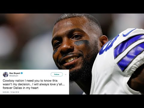 """Dez Bryant RELEASED from Dallas Cowboys and THREATENS to Join NFC Rival, """"This Wasn't My Decision"""""""