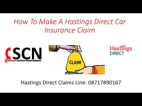 How To Make A Hastings Direct Car Insurance Claims