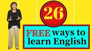 26 ways to learn English for free