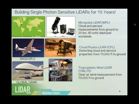 LIDAR Mag Webinar: Single Photon LIDAR - Why Not See the Forest AND the Trees?