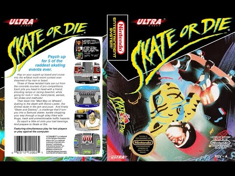 [NES CLASSICS] Skate or Die! (1988)