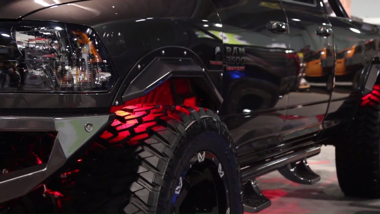 SEMA2017: The Fab Fours Open Fender System Allows Monster ...