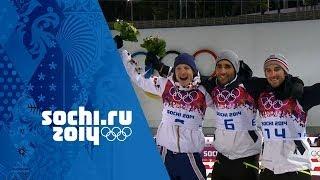 Men's Biathlon - 12.5km Pursuit - Fourcade Wins Gold | Sochi 2014 Winter Olympics